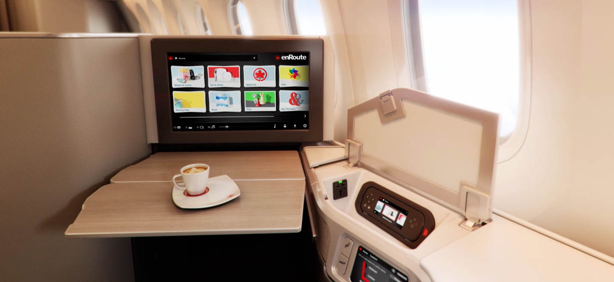 Premium Experience in International Business Class