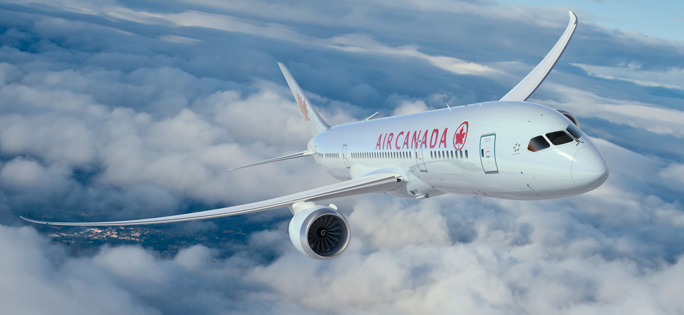 Welcome Aboard Air Canada's First 787