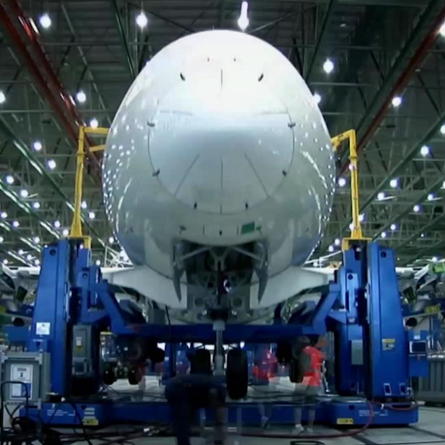 Watch 787 come to life